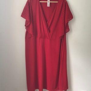 Red Dress Women's Size 3X